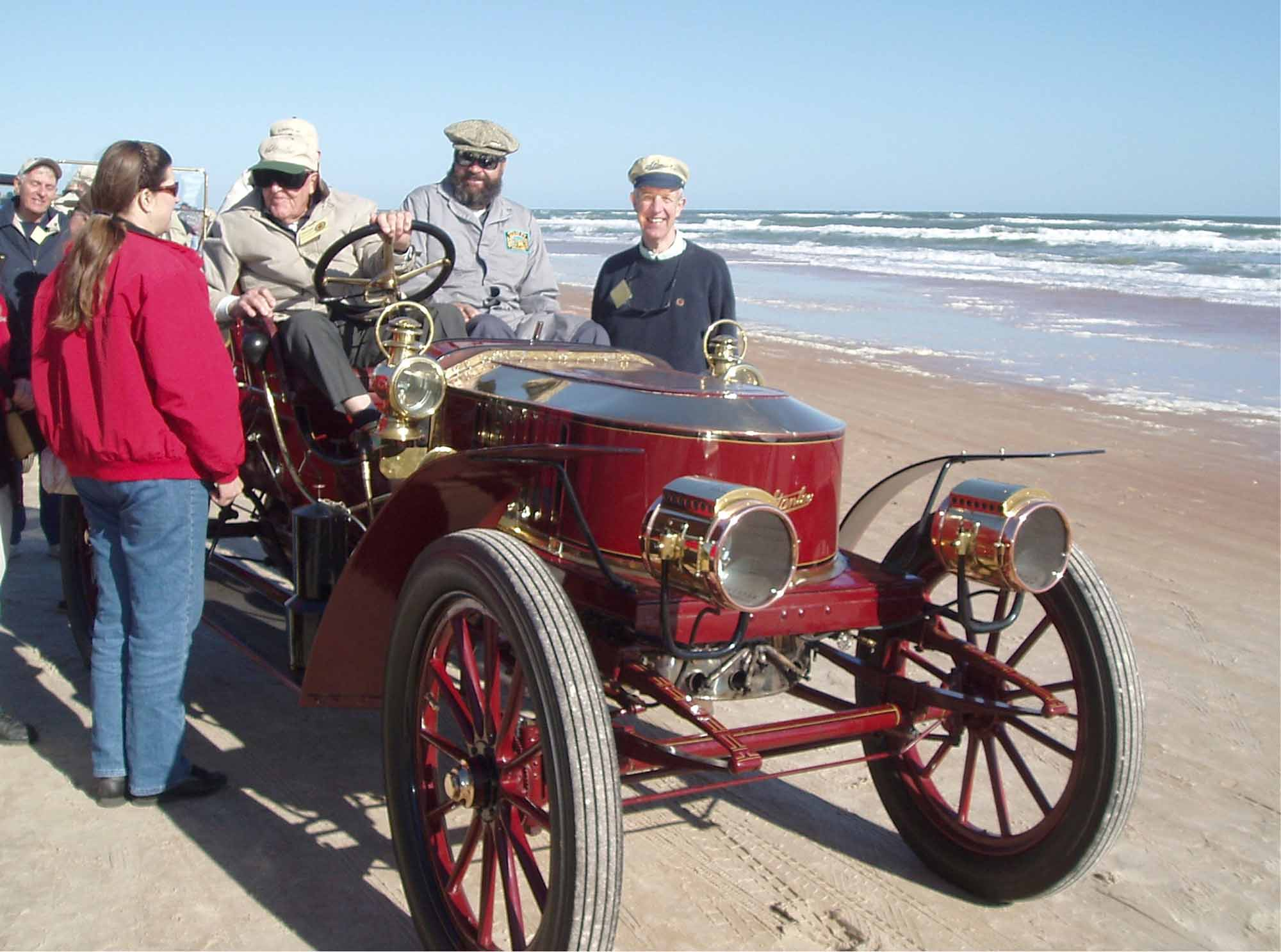 TCM & Bill Rule in Model K on Ormond Beach, Jan 2006