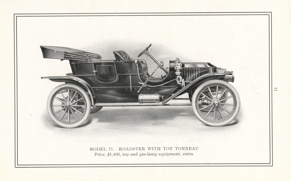 A drawing of the 1910 Stanley Model 71, it is fully black and white